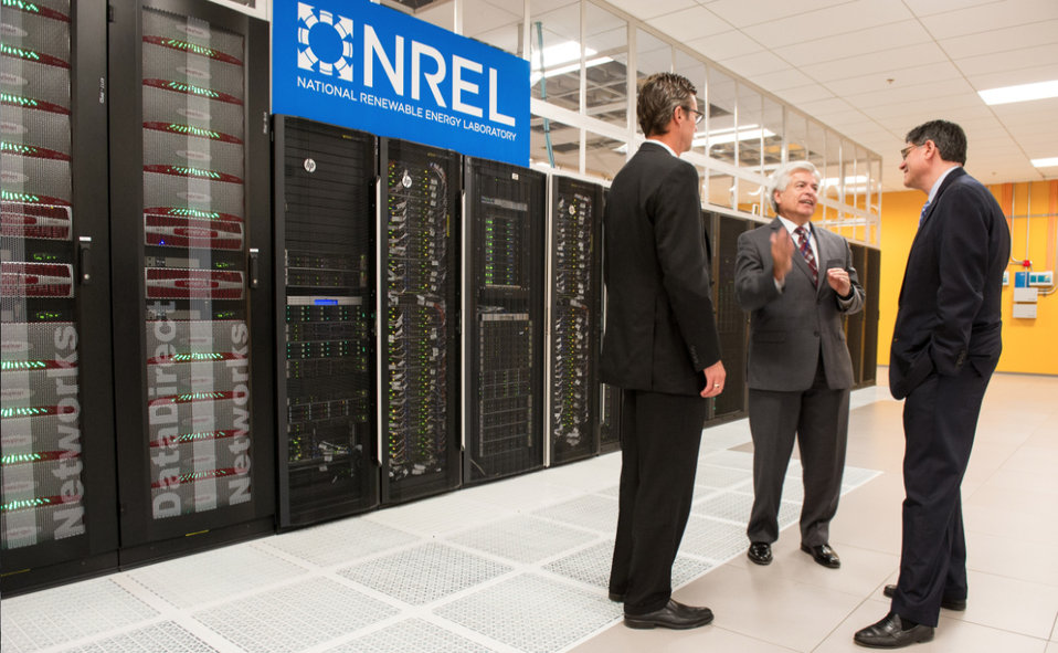 Secretary Lew visits NREL in Colorado