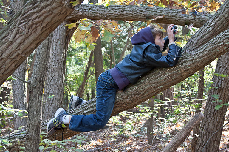 Photo of the Week -  Connecting Children with Nature