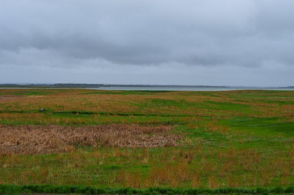 Landscape seen from auto tour route