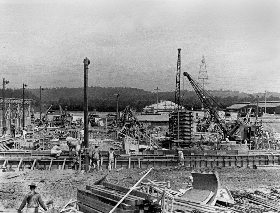 Early Construction K-25 Oak Ridge