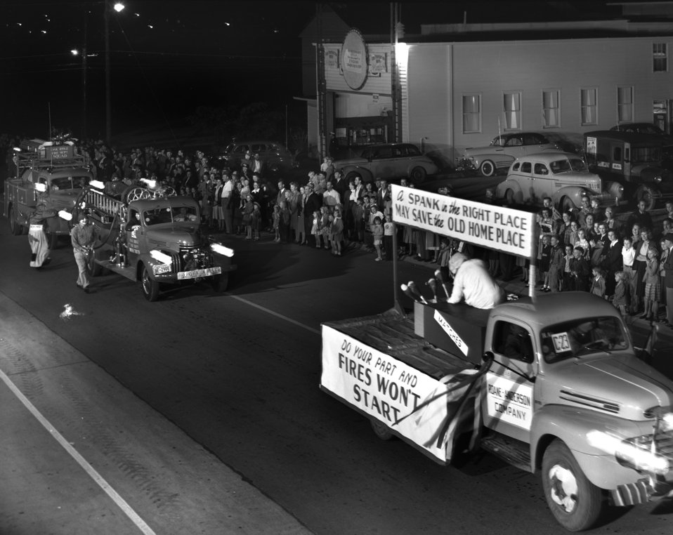 Parade Fire Prevention Week Oak Ridge 1948