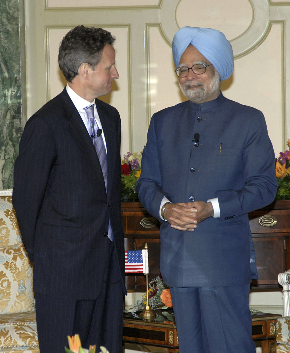 Prime Minister Singh of India