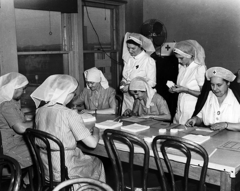 Red Cross Surgical Dressing Session Oak Ridge