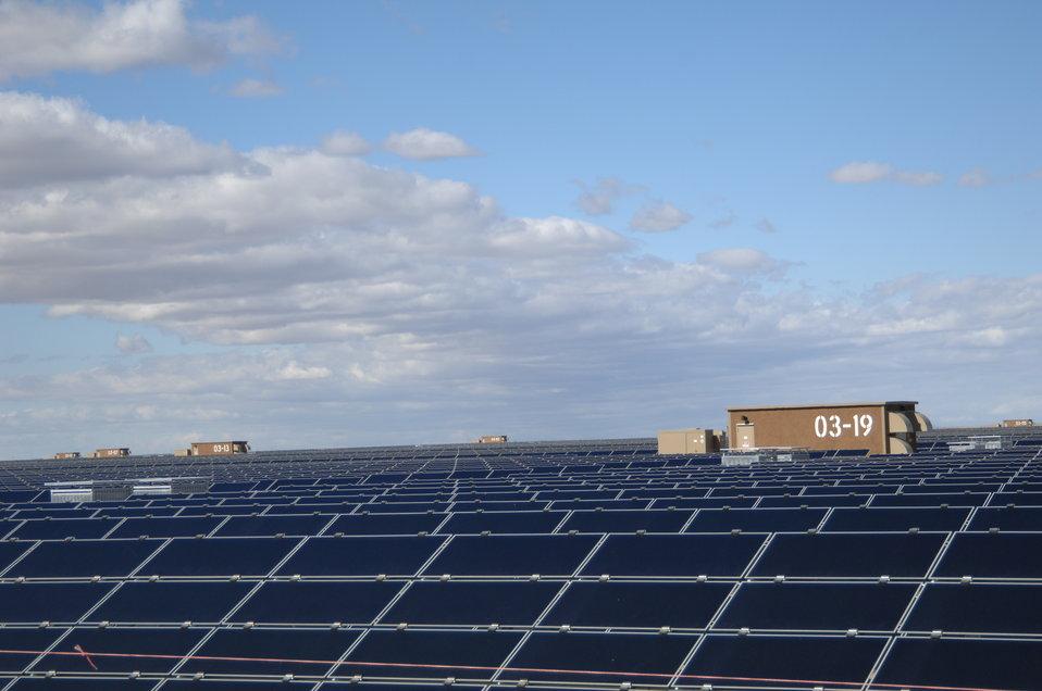 Solar Panels at Topaz Solar 6