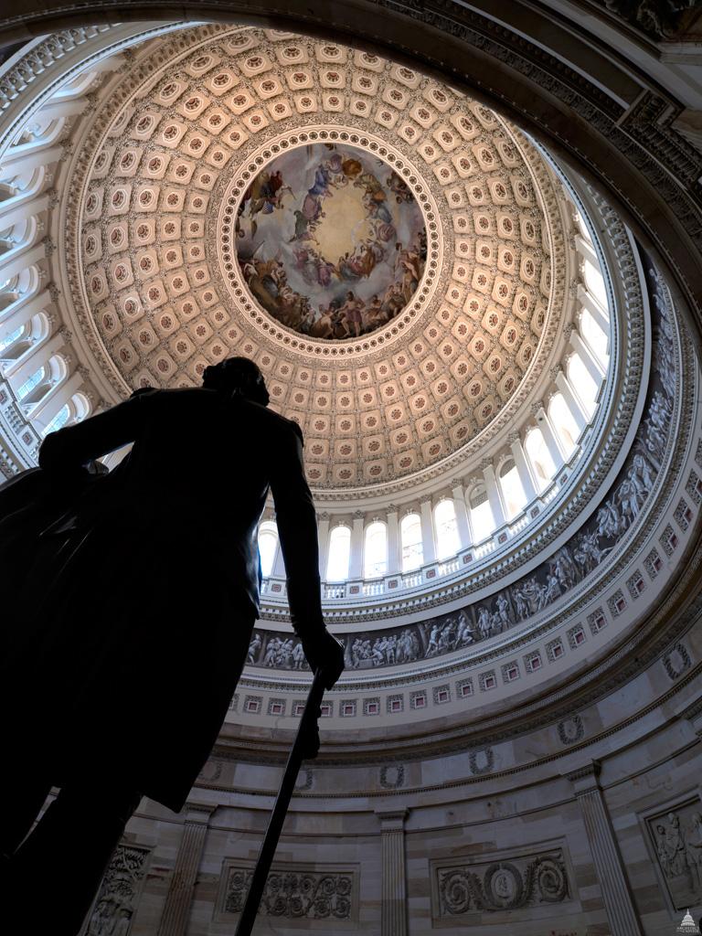 Apotheosis of Washington in the Rotunda of the U.S. Capitol