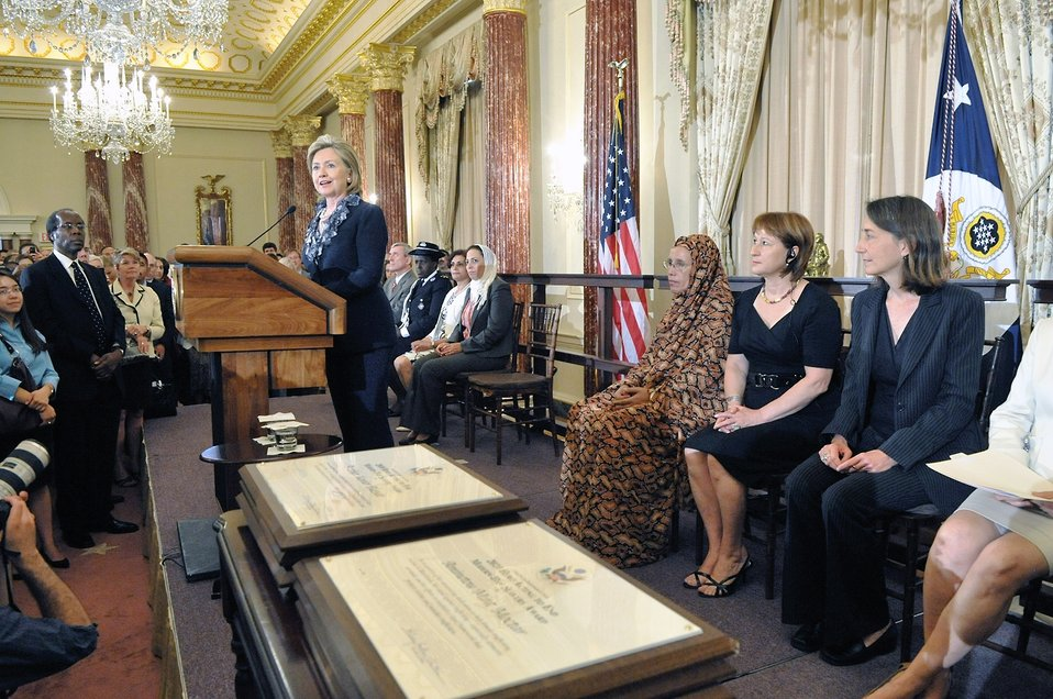 Secretary Clinton Announces Release of 2010 Trafficking in Persons Report