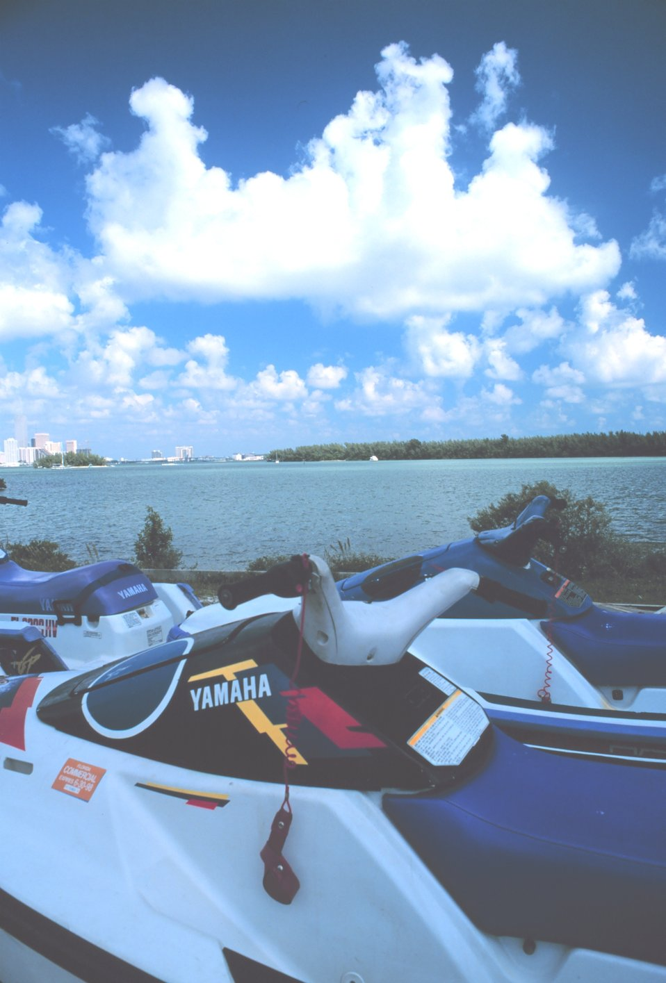 Ski Boats for rent on the shores of Key Biscayne