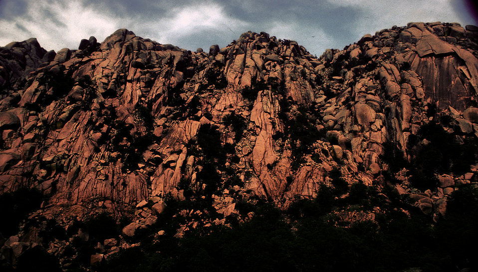 ancient rocks and ridges, Wichita Mountains Refuge