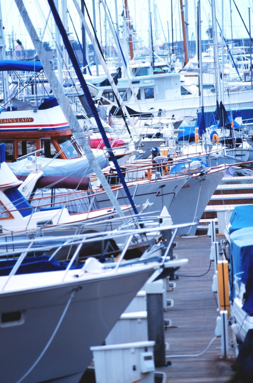 The harbor at Santa Barbara