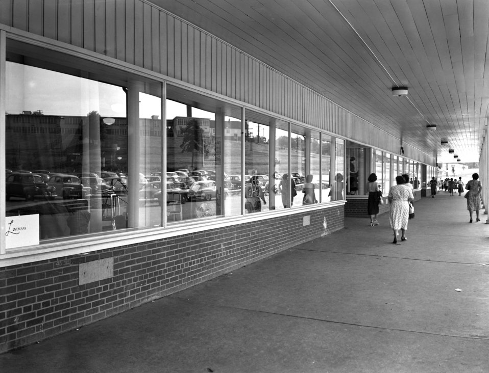 Lovemans Dept. Store Jackson Square Oak Ridge 1950