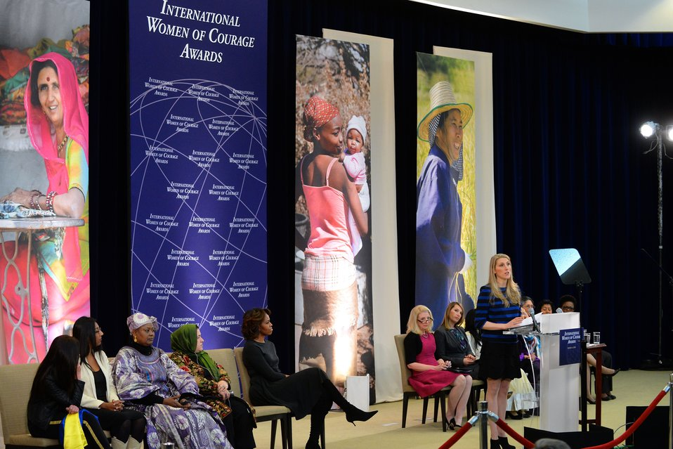 Dr. Kerry Delivers Remarks at the 2014 International Women of Courage Award Ceremony
