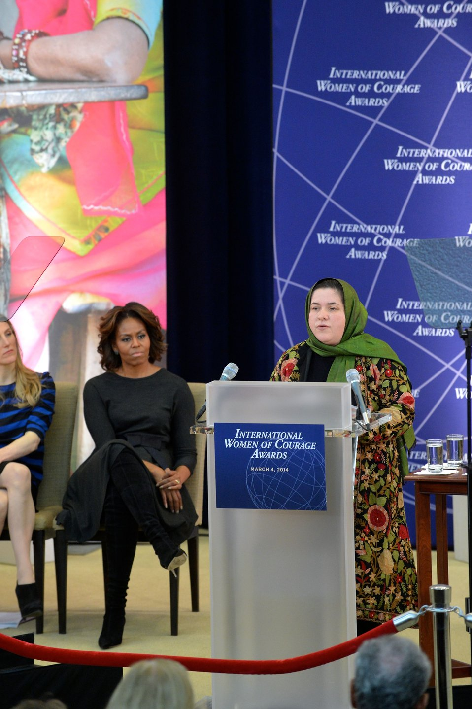 2014 IWOC Awardee Dr. Oryakhil of Afghanistan Delivers Remarks