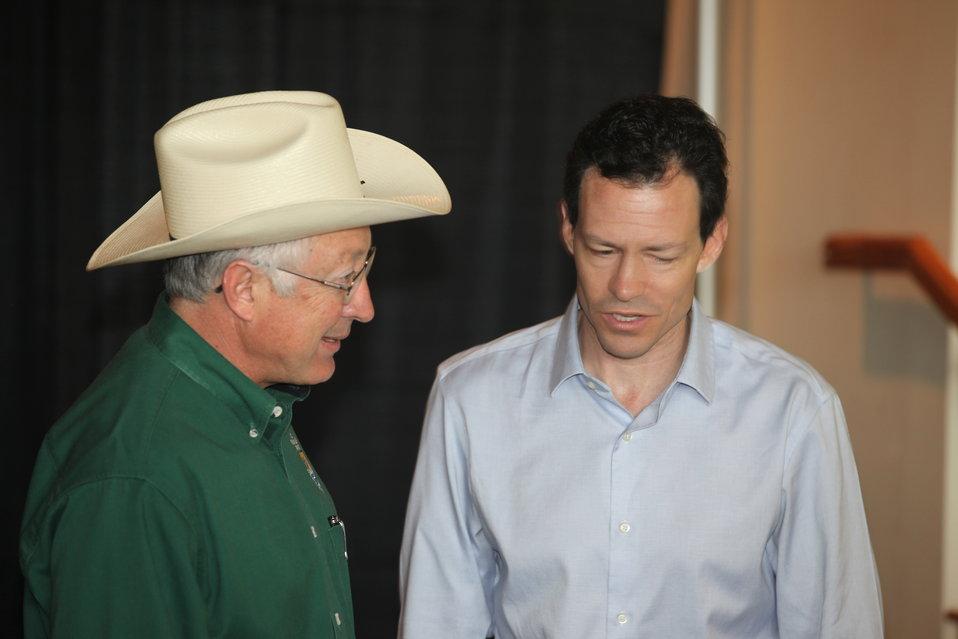 Ken Salazar & Evan Hirsche from NWRA