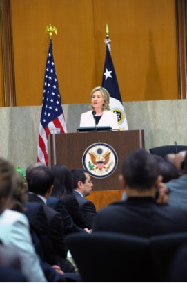 Secretary Clinton Delivers Remarks at Pride Month Celebration