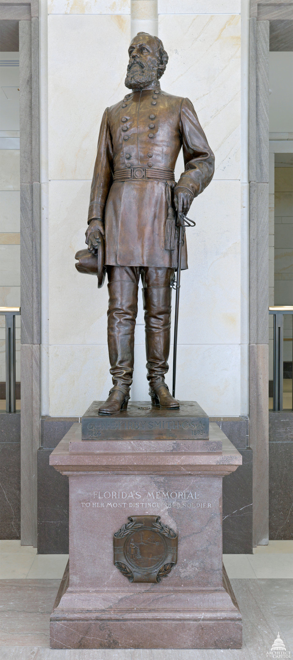 Edmund Kirby Smith Statue