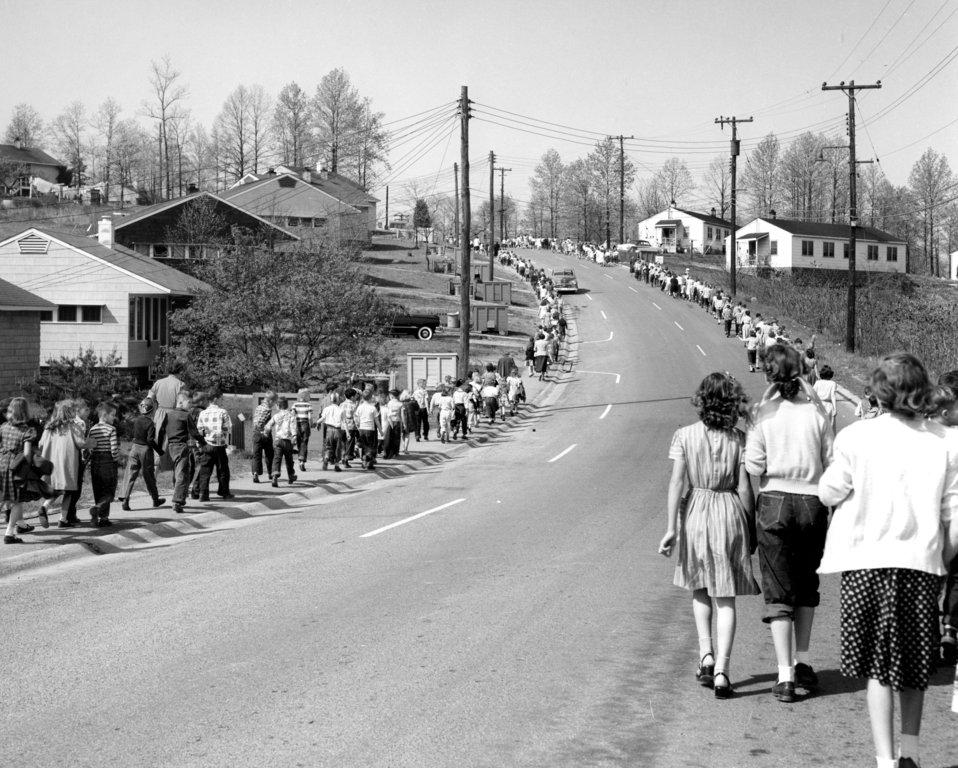 Civil Defense Air Raid Drill Oak Ridge 1953