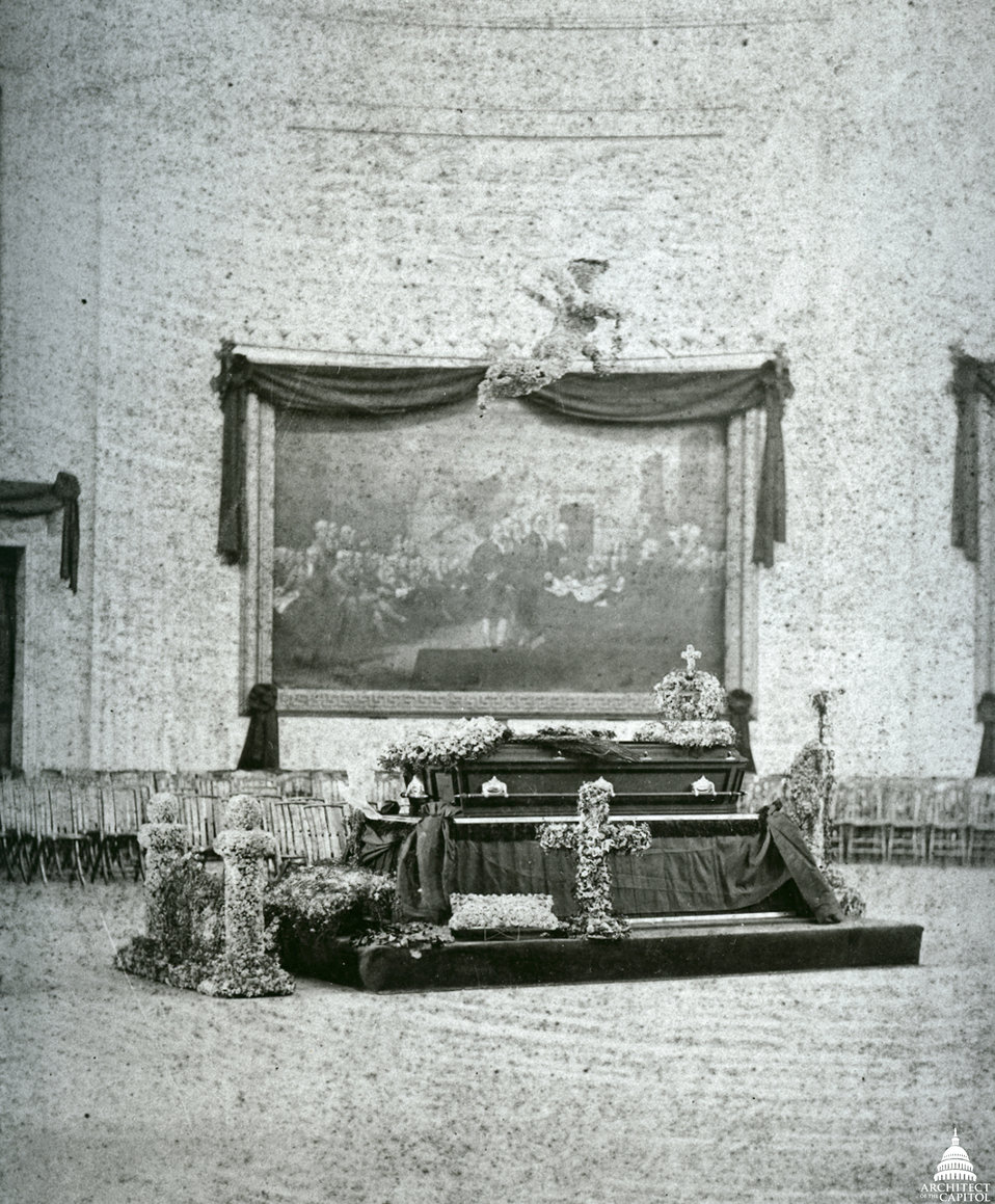 President Garfield Lying in State