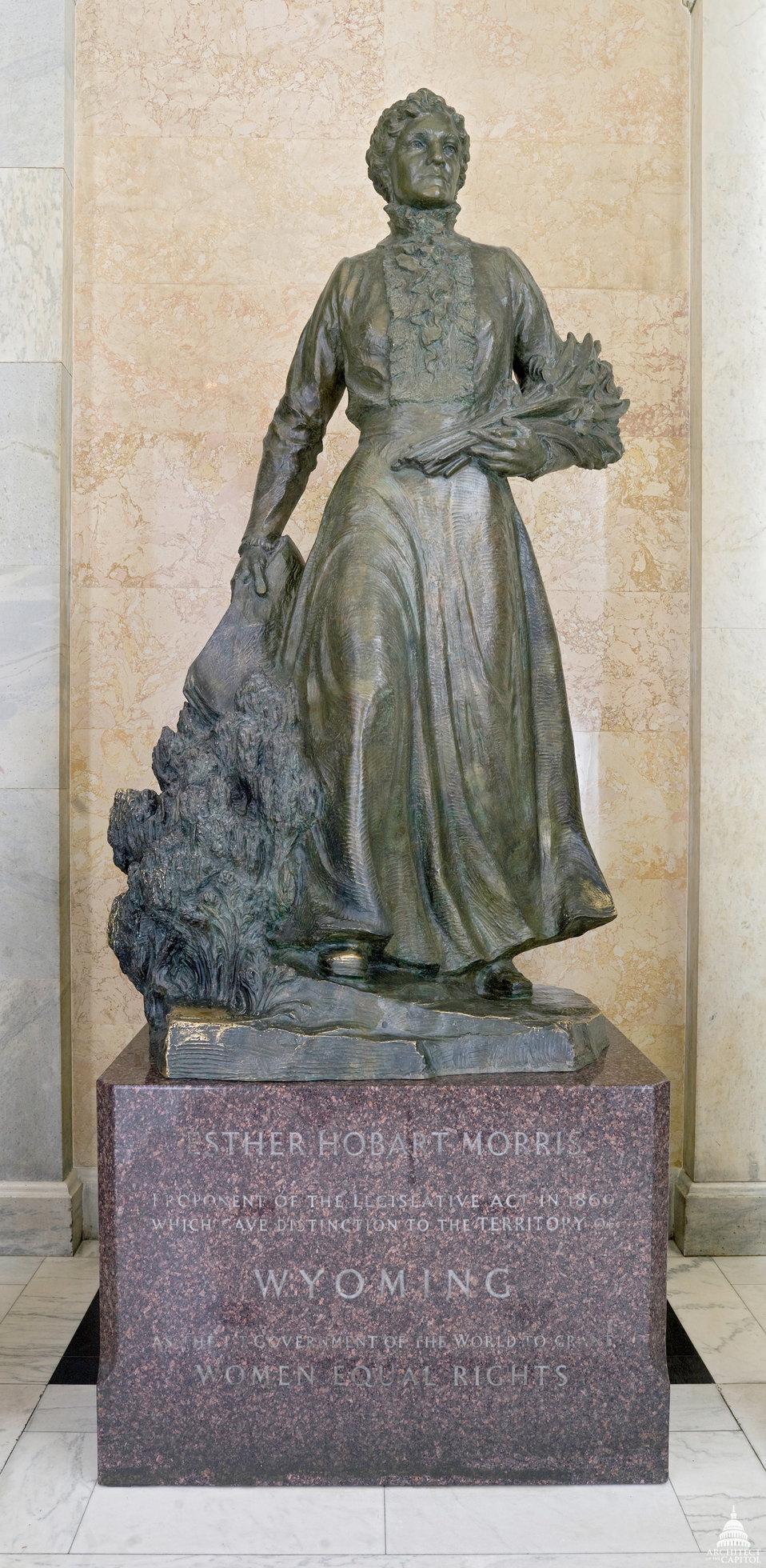 Esther Hobart Morris Statue