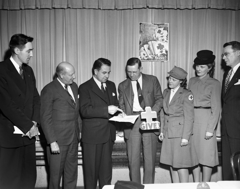 Red Cross Dinner Oak Ridge 1947