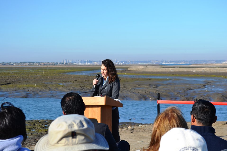 Carolyn Lieberman, USFWS Coastal Program, Southern California Coordinator