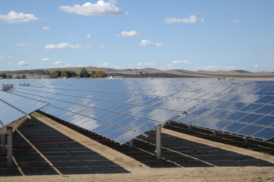 Solar Panels at Topaz Solar 1