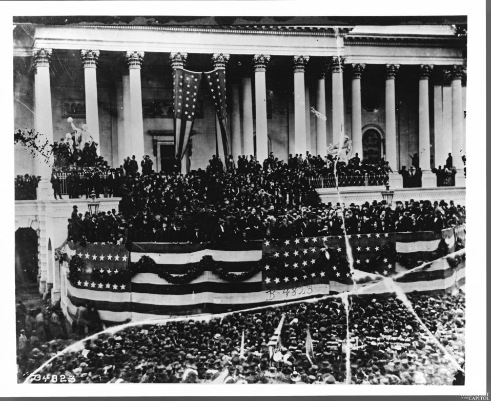 INAUGRATION OF ULYSSES S. GRANT - 1869
