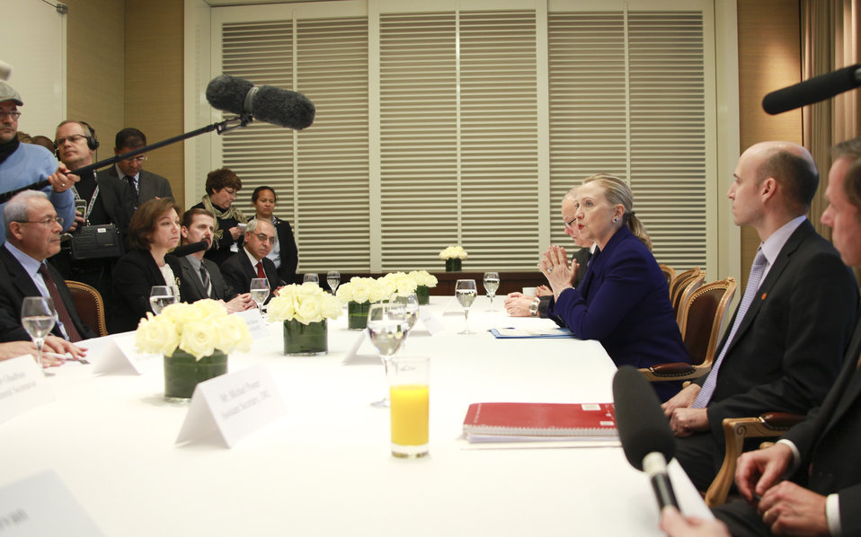 Meets With Syrian Opposition Leaders