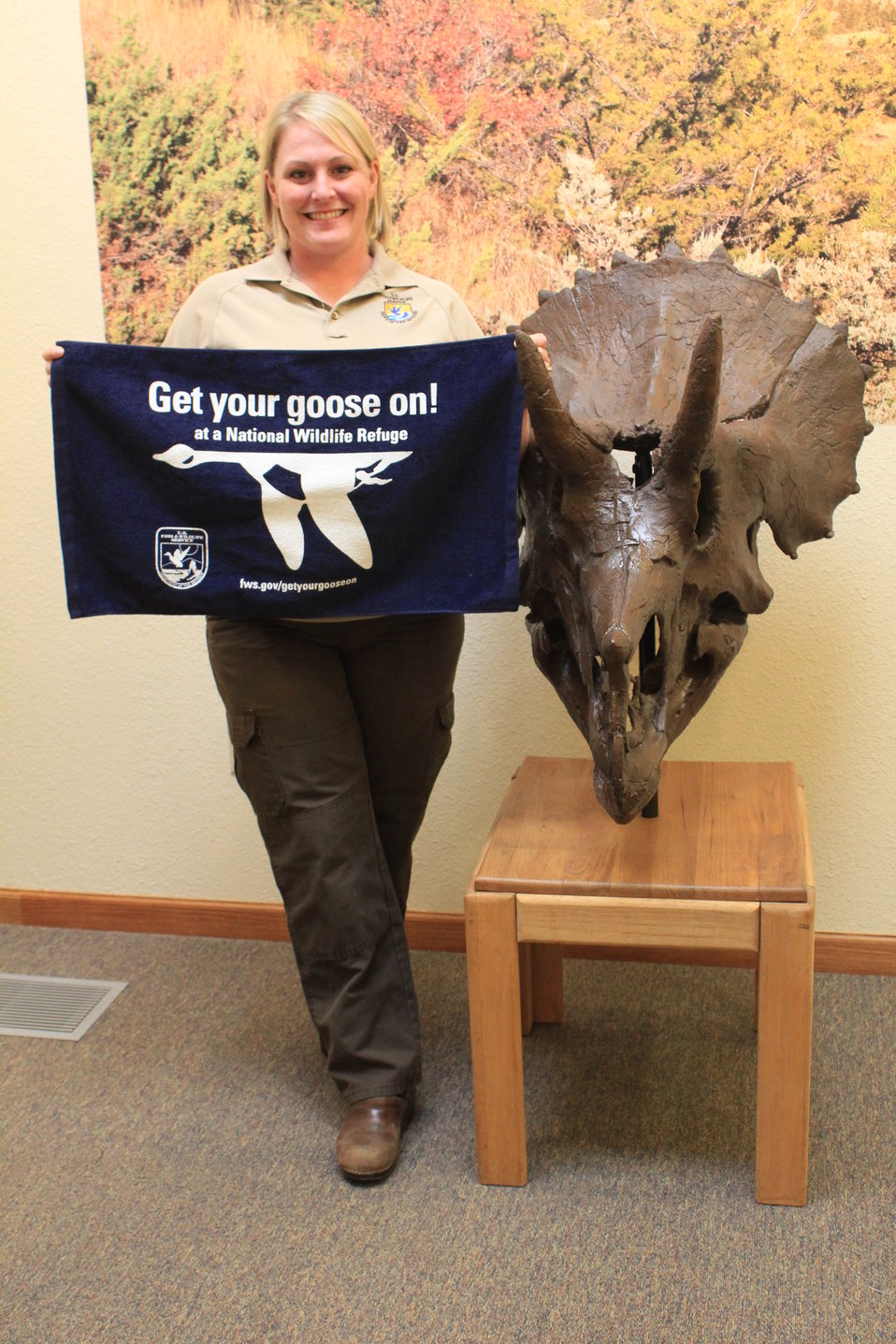 Get Your Goose On! - Triceratops Style
