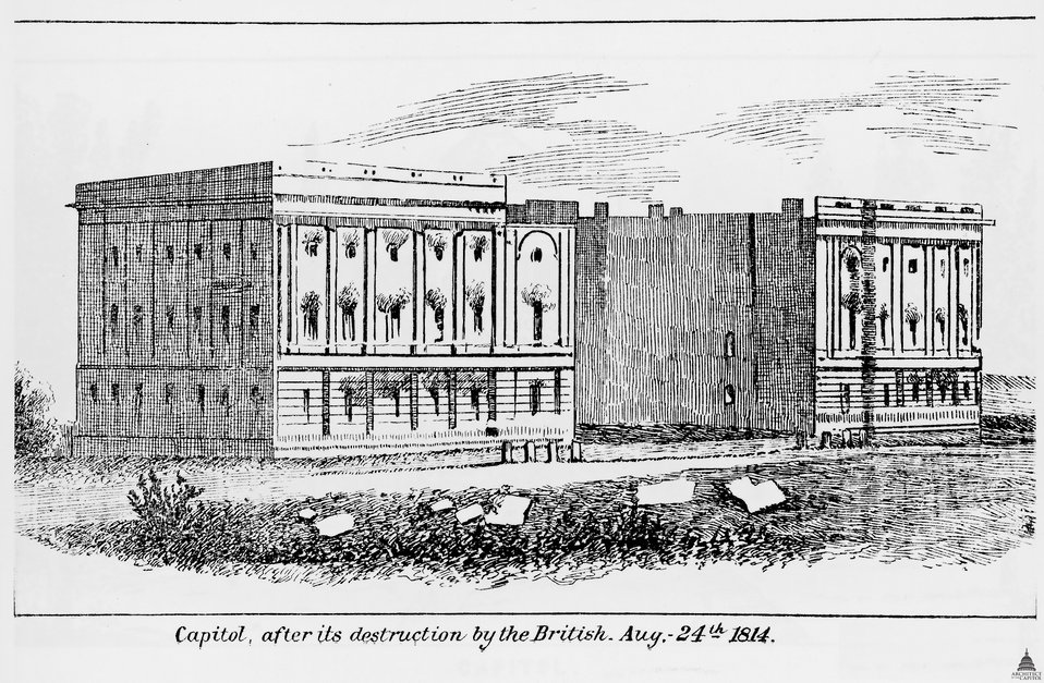 The Fire of 1814 at the U.S. Capitol