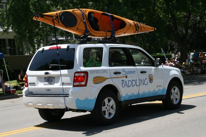 The Summer of Paddling Vehicle
