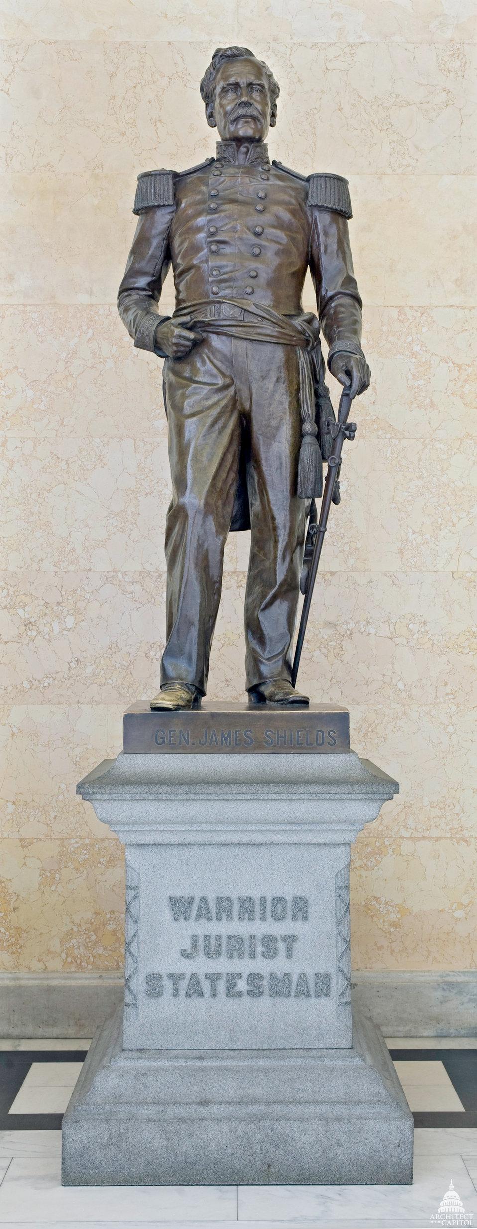 James Shields Statue