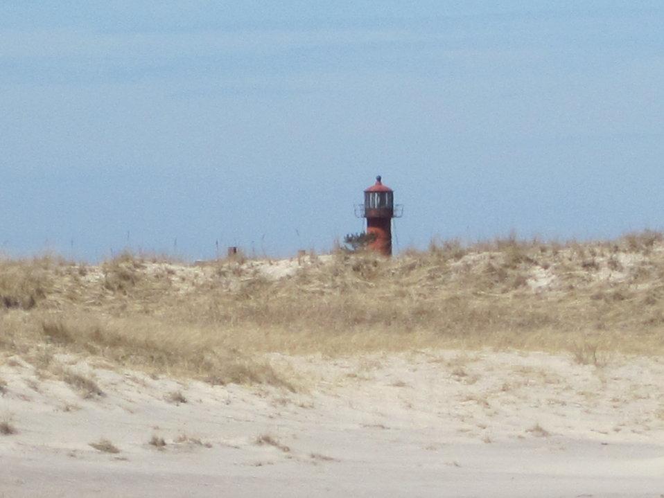 Lighthouse on South Monomoy Island