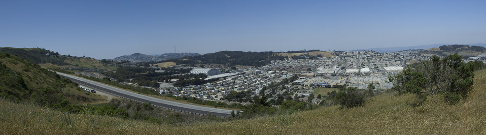 Development Surrounding San Bruno Mtn