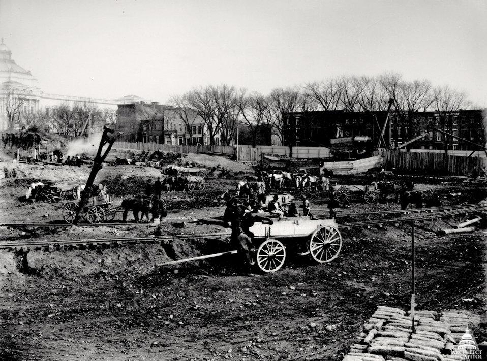 Cannon Building Construction 1904