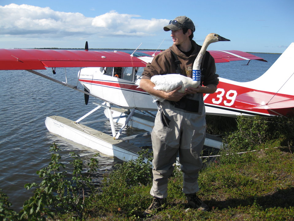 Floatplane in Alaska