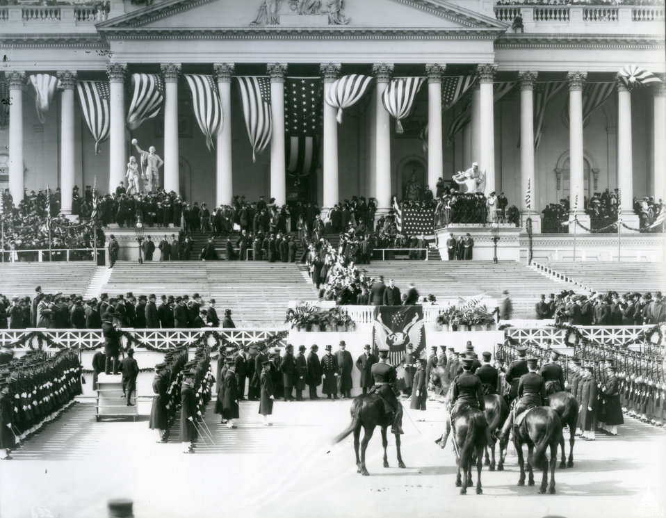 Inauguration of Theodore Roosevelt