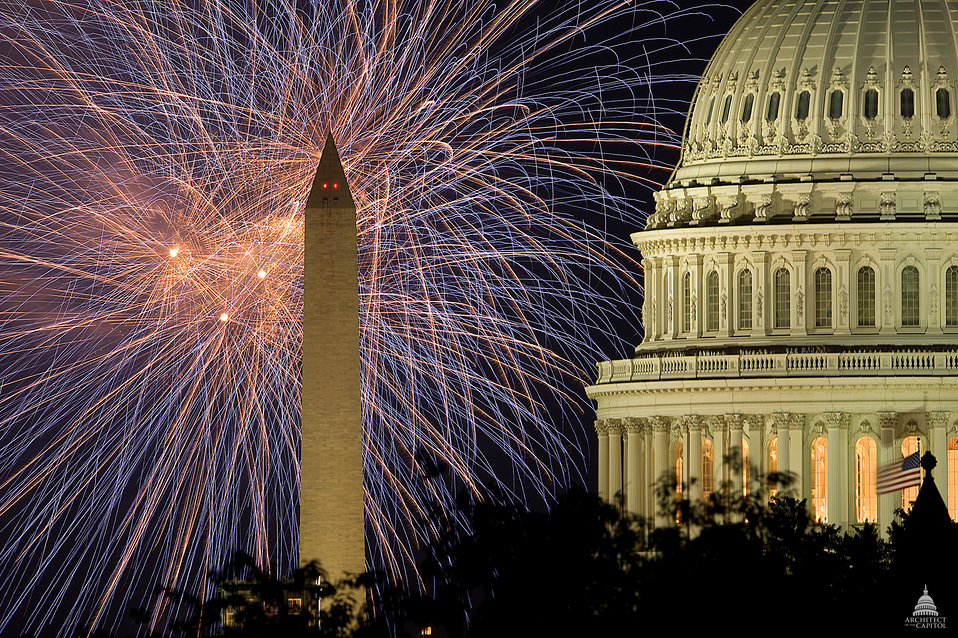 Fourth of July at the U.S. Capitol