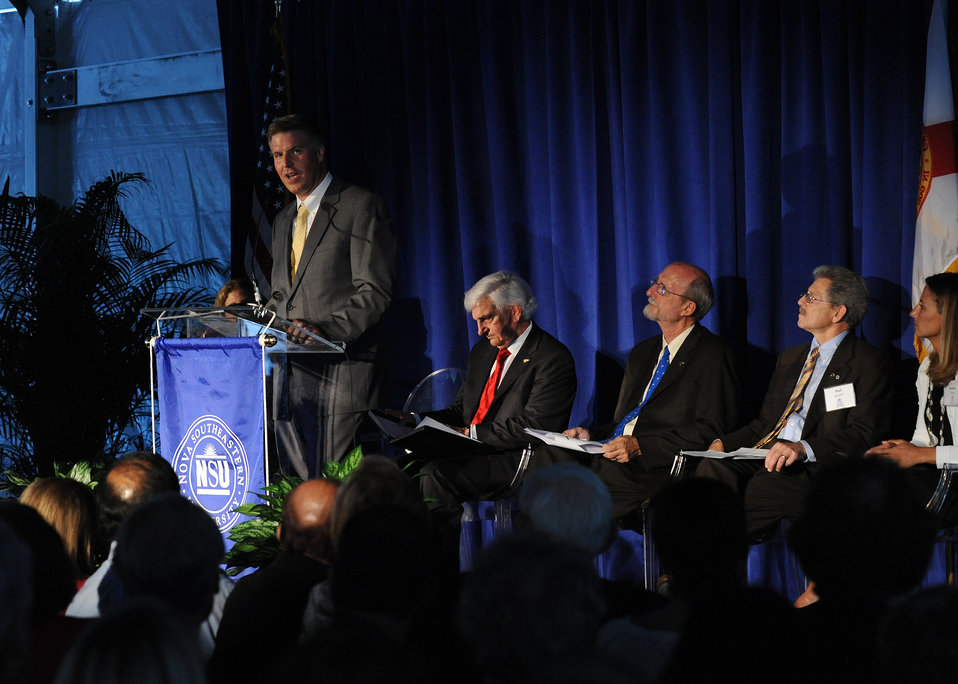 Opening Ceremony of NOVA Southeastern University's (NSU) Center of Excellence for Coral Reef Ecosystem Research