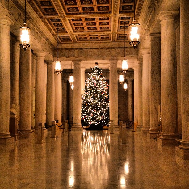 Christmas at the Court. #SCOTUS
