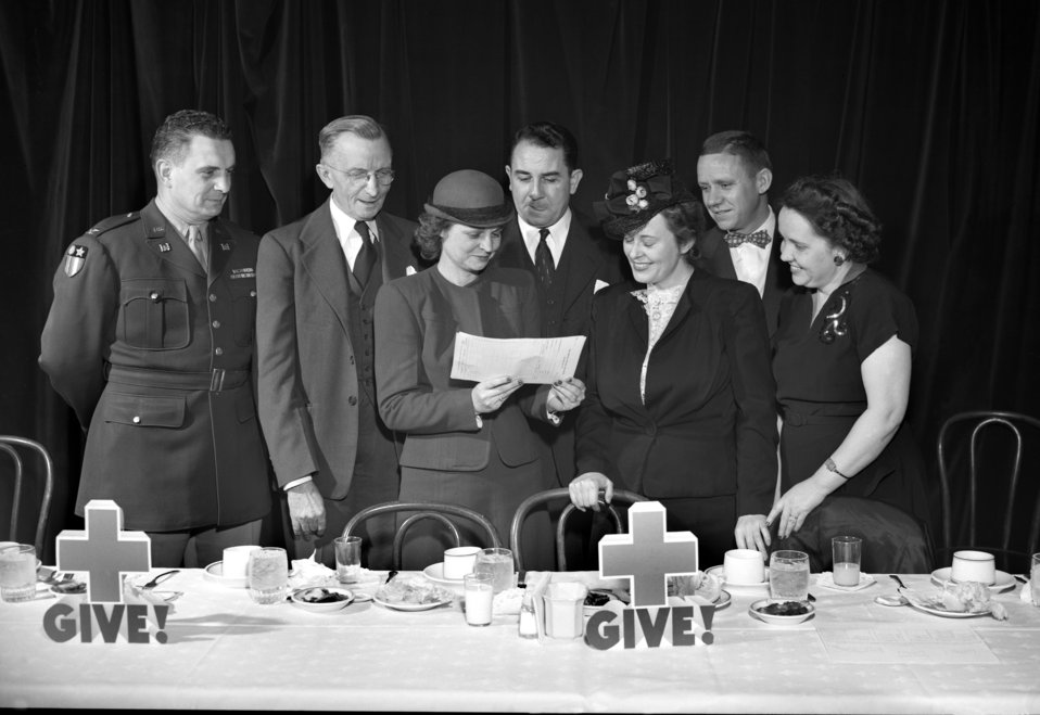 Red Cross Dinner Oak Ridge 1947