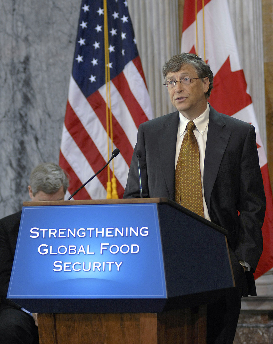 Announcement on International Commitment to Fight Global Hunger and Poverty, 4/22/2010