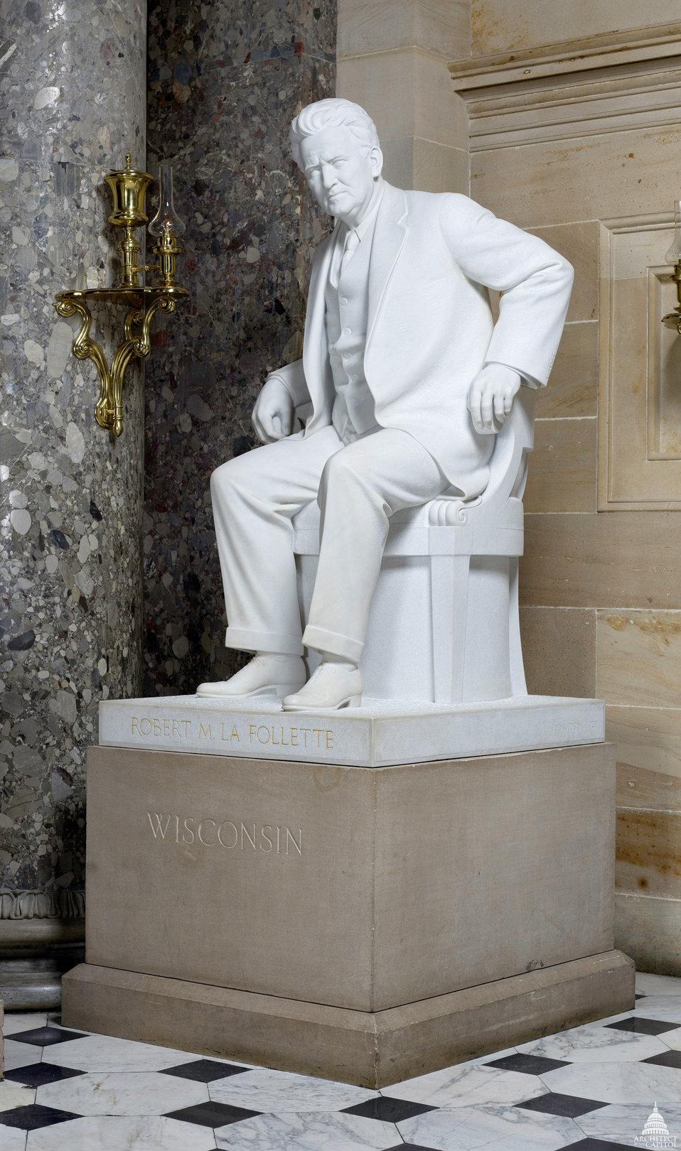Robert M. La Follette Statue
