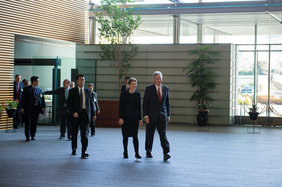 Deputy Secretary Burns and Ambassador Kennedy Visit the Japanese Prime Minister's Residence