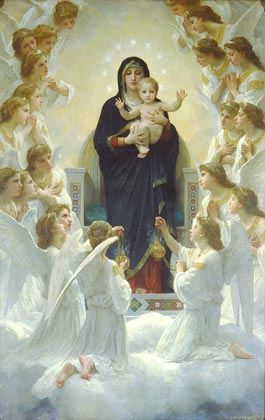 Bouguereau, William-Adolphe - The Queen of the Angels (Regina Angelorum).jpg
