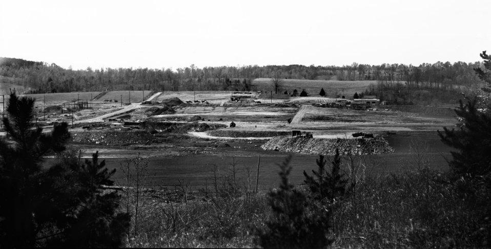 Early Construction ORNL Oak Ridge 1943