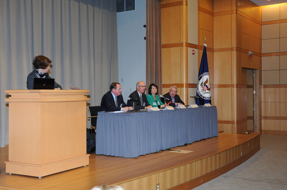 Special Representative Hariton Moderates a Panel Discussion