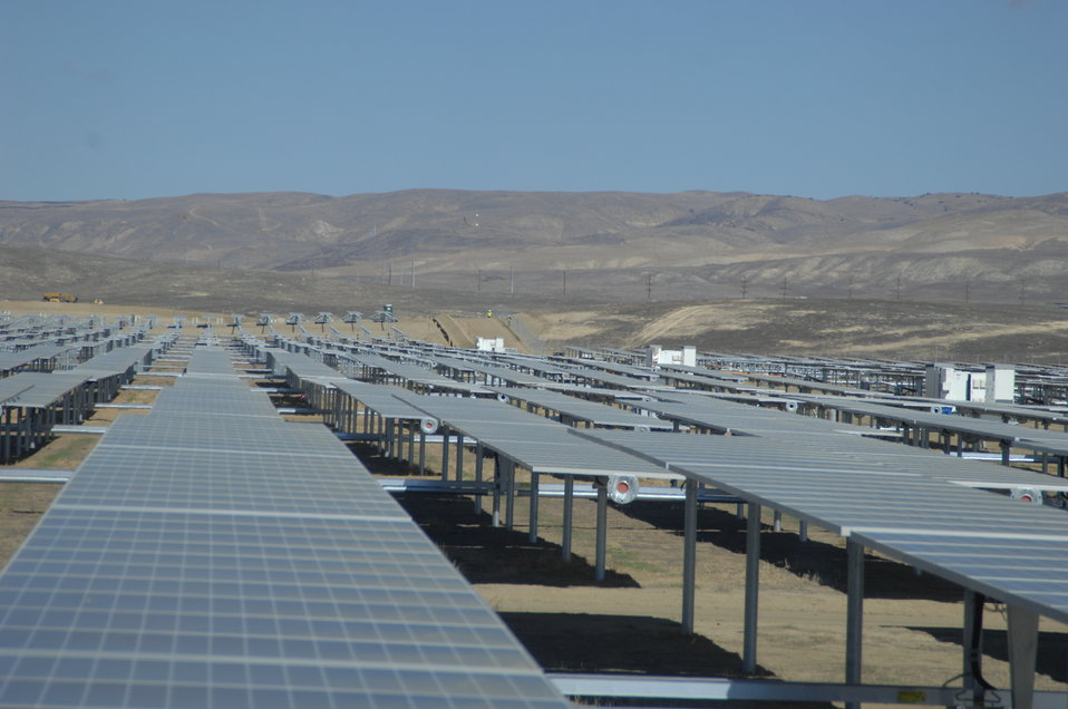 Solar Panels at California Valley Solar Ranch 3
