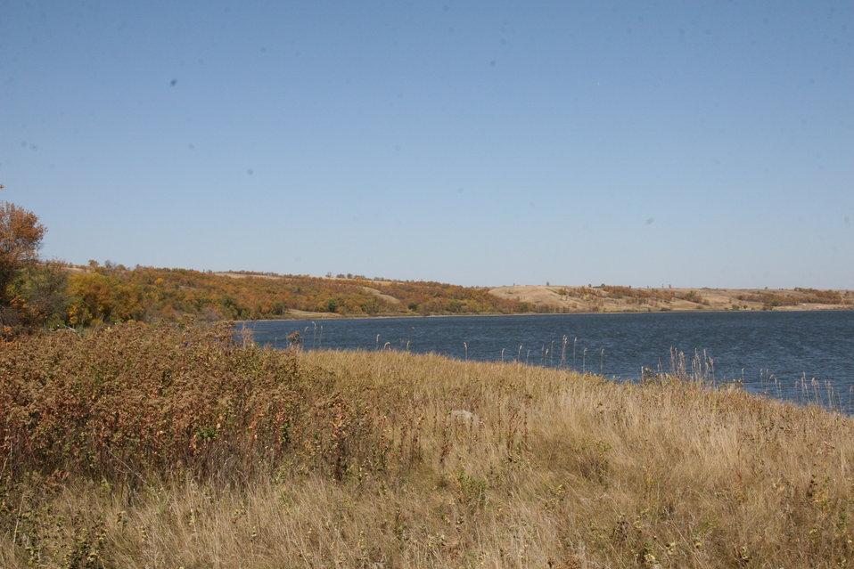 Fall Colors on Des Lacs Refuge
