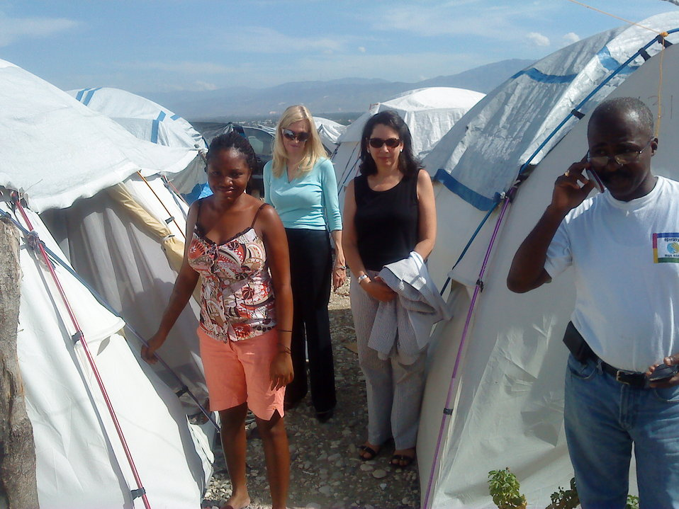 Under Secretary Lael Brainard visits Haiti, 7/29/2010