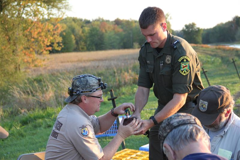 Waterfowl Banding